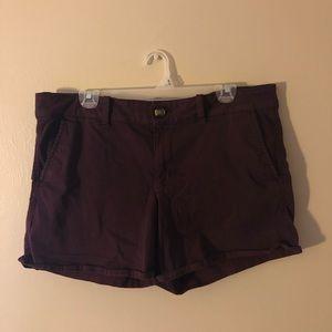 AEO Twill X Midi Shorts
